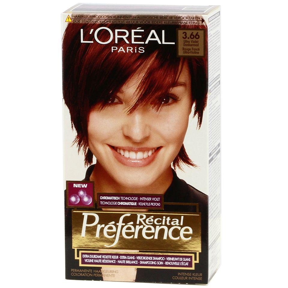 Loreal Recital Preference 366 Ultra Violet Dark Red Httpswww