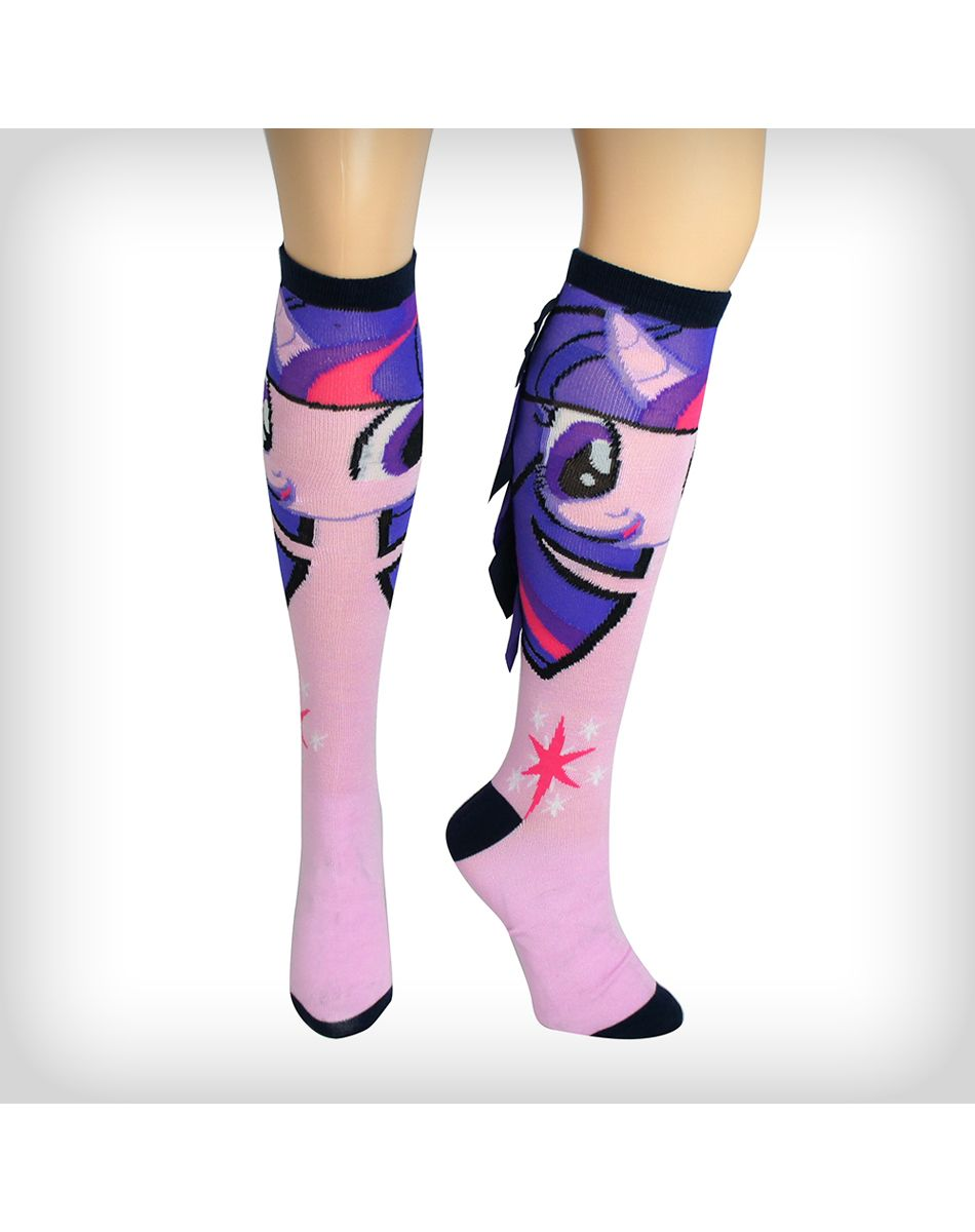 a28fdfb9c My Little Pony Twilight Mane Knee High Socks