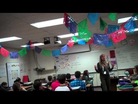 Señora Arendt- Spanish 1- Introducing Música Miércoles - YouTube