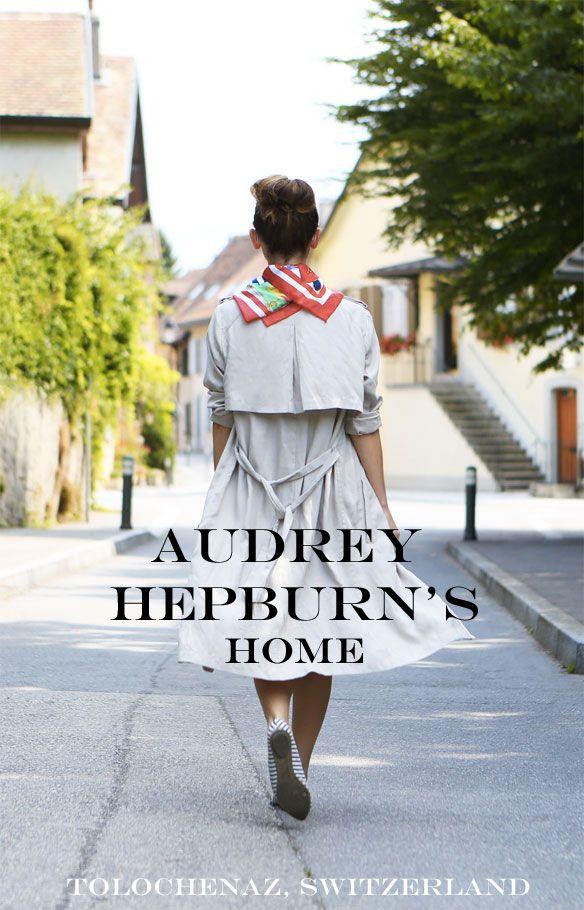 Audrey Hepburn's Tolochenaz home Switzerland la plaisible la paisible the peaceful home Morges