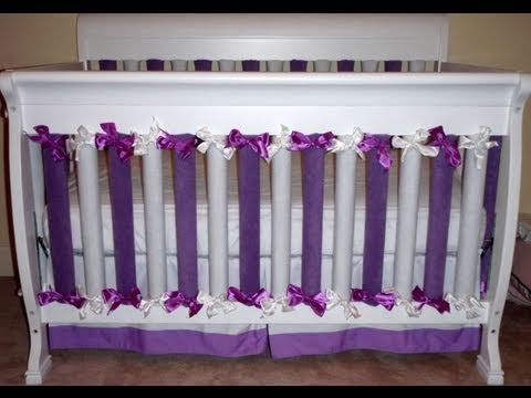 How To Make Crib Bumpers That Work And Way Less Expensive Than Those Wonder Bumpers Baby Crib Bumpers Diy Baby Stuff Crib Bumper