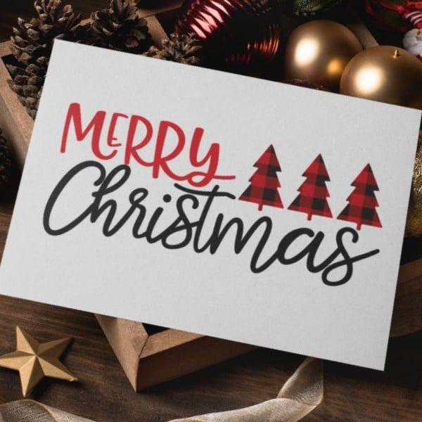 """""""Frohe Weihnachten"""" SVG-Cut-Datei   – svg"""
