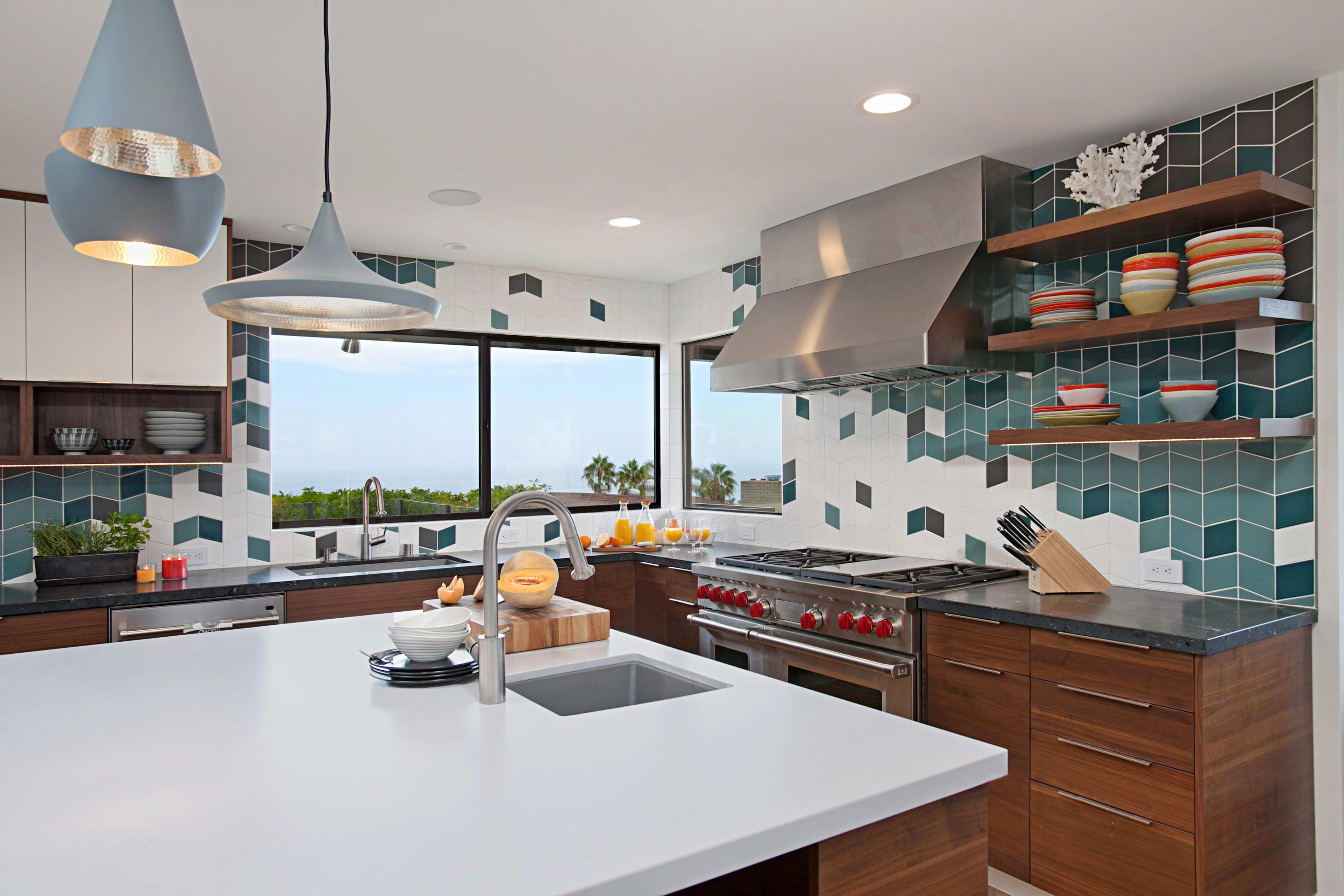 A Renovated 1950s House Is Full Of Colorful Tile Inspiration