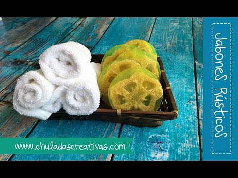 26 Jabon Rustico Con Zacate Natural Chuladas Creativas