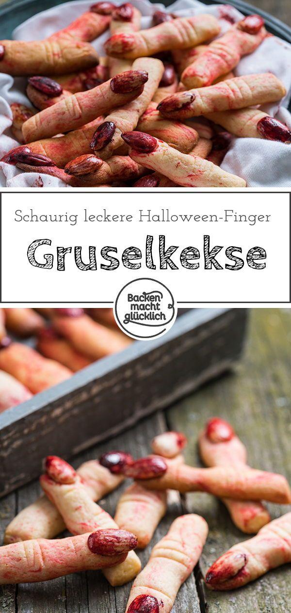 halloween finger kekse rezept s tem nyek halloween. Black Bedroom Furniture Sets. Home Design Ideas