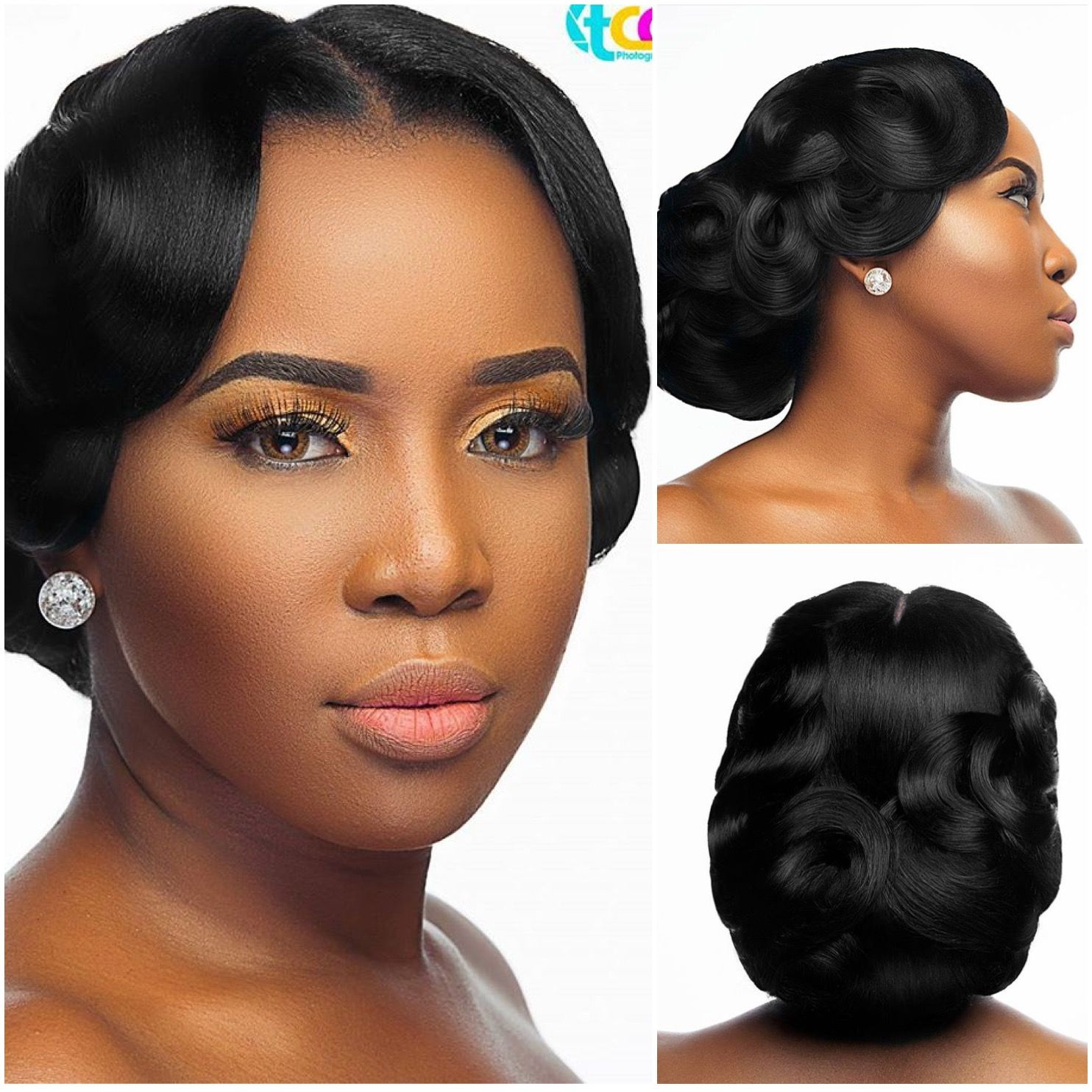 Wedding Hairstyles Dark Hair: Pin By LoveWeddingsNG On Bridal Makeup