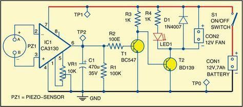 Solder Fumes Remover | Circuit diagram and Electronics projects