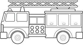 Free Fire Truck Coloring Pages Printable Adults Near Me For Kids ... | 178x283