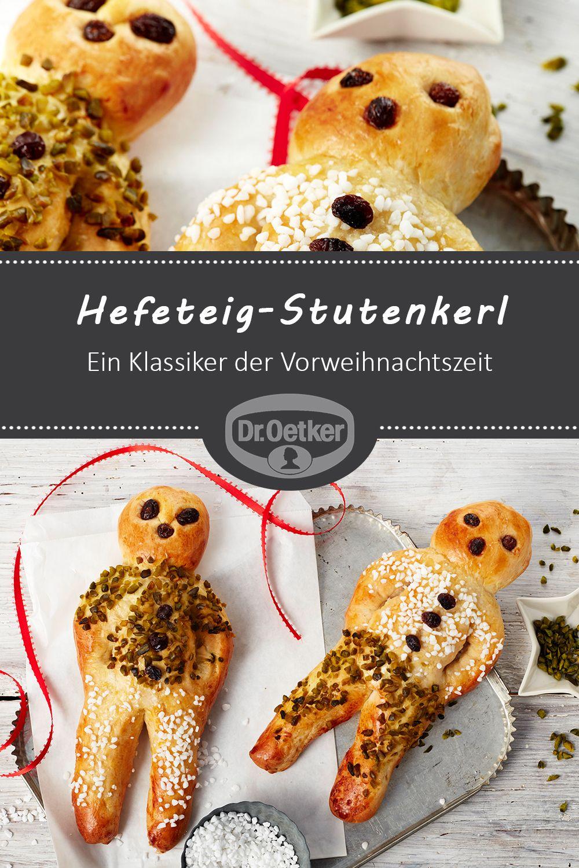 Hefeteig-Stutenkerl