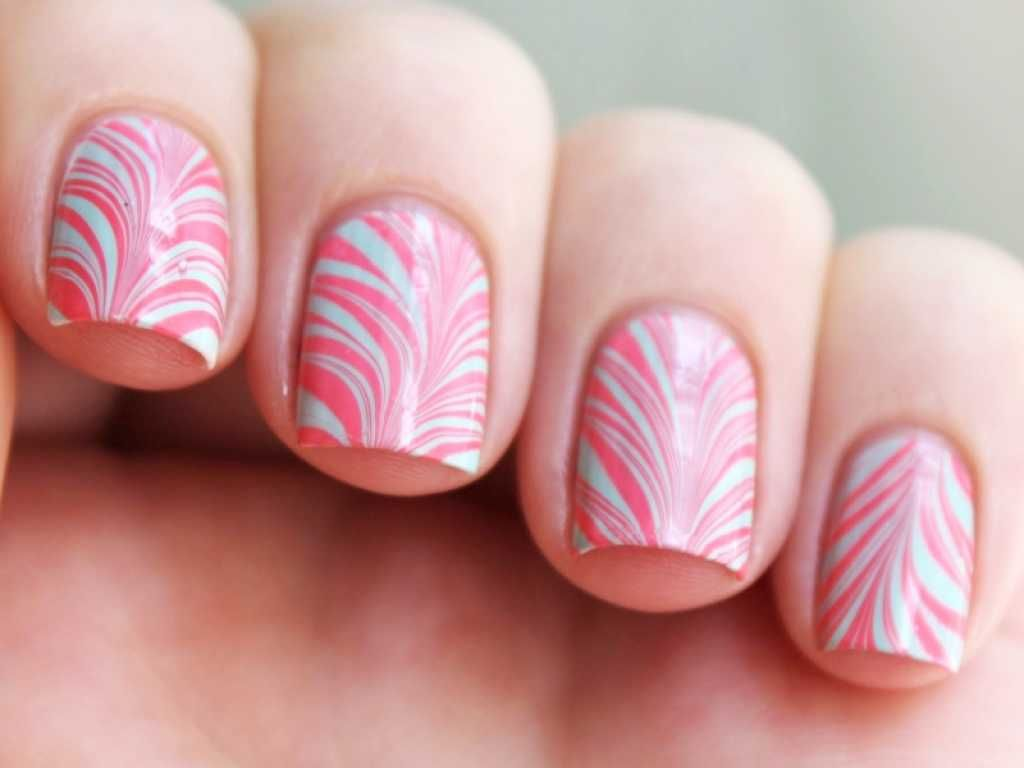 Stylish water marble mani :: one1lady.com :: #nail #nails #nailart ...