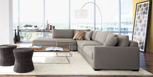 Crate And Barrel Sectional Sofa Goodca