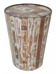 Our Bongo Drum End Table Apartment Stuff Table Barrel
