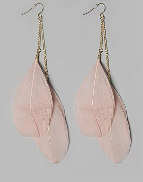b3a3bb3b3d Daisy Rae Feather Earrings Exclusive to BANK from Daisy Rae are ...