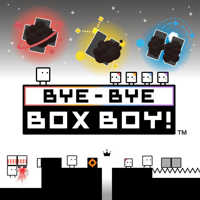 NoE PR - QBBY RETURNS FOR ONE LAST ADVENTURE IN BYE-BYE BOXBOY!, COMING TO NINTENDO 3DS eSHOP ON 23 MARCH 2017
