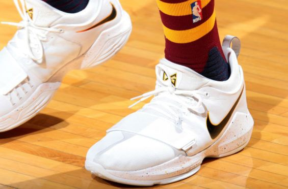 98a6b6e6716 Paul George Wore A New Home Colorway Of The Nike PG 1 Last Night ...