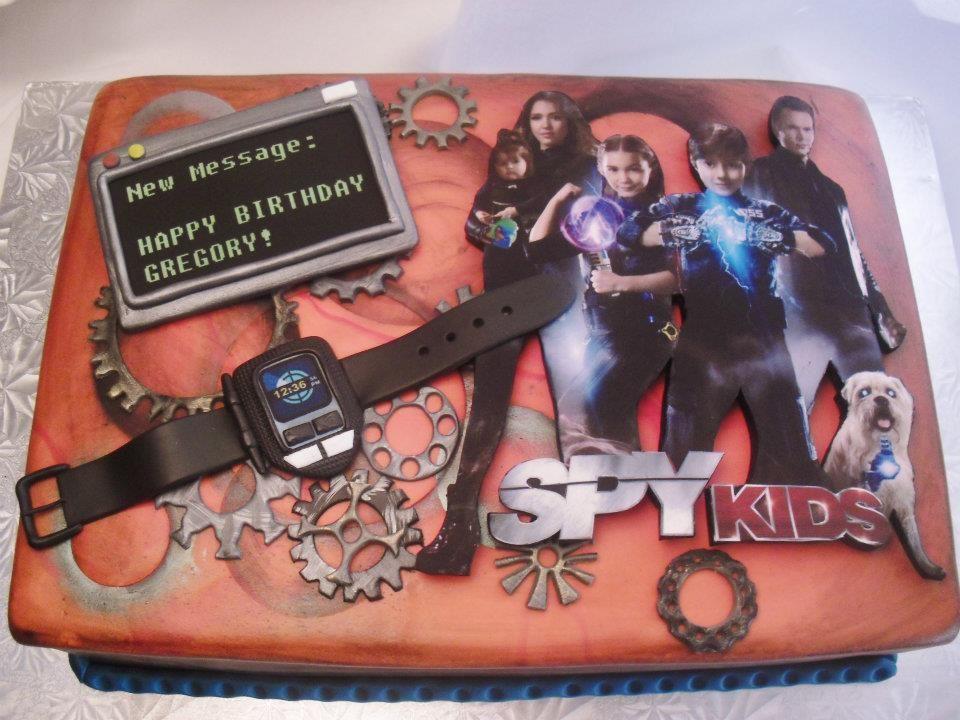 Made Fresh Daily Spy Kids 4 Birthday Cake Abbys Secret Spy