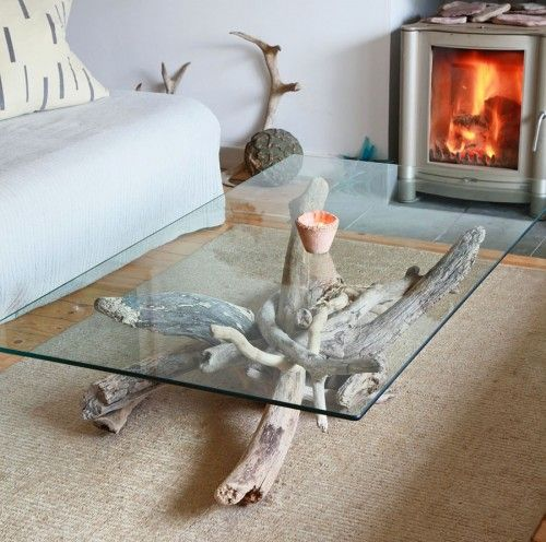 Another Creation By My Husband A Driftwood Coffee Table Scottish Decor