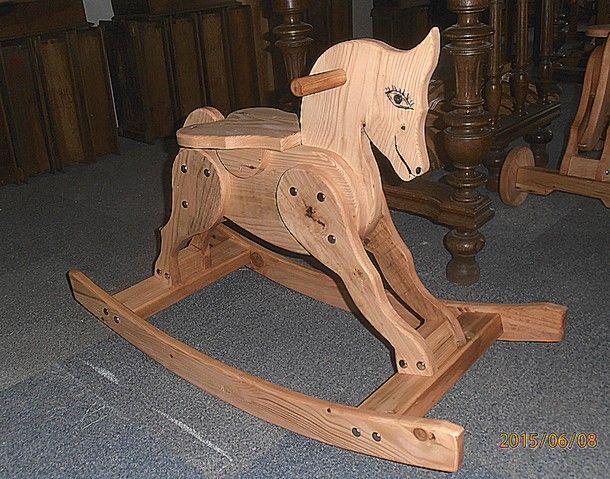 Cheval a bascule 1, objets en bois décoratifs et ou jouets, création ...