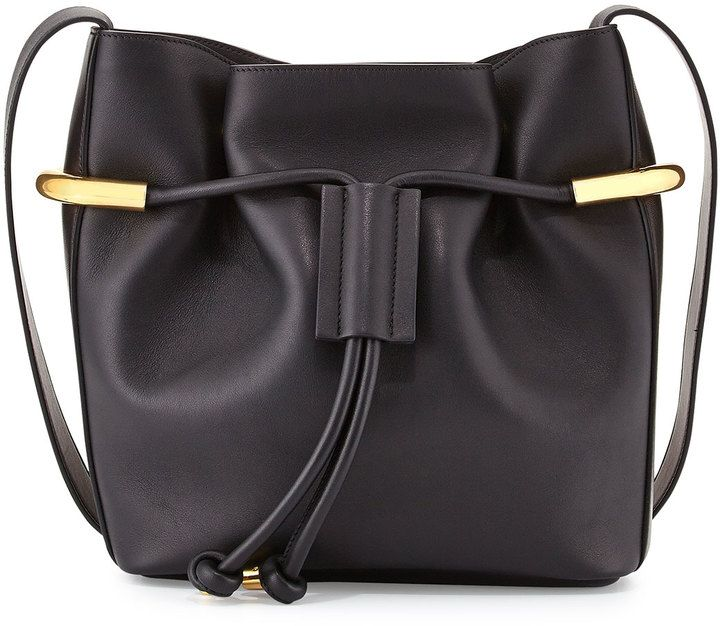 Chloe Emma Small Drawstring Shoulder Bag, Black   Bags   Pinterest ... 16d8438ac3