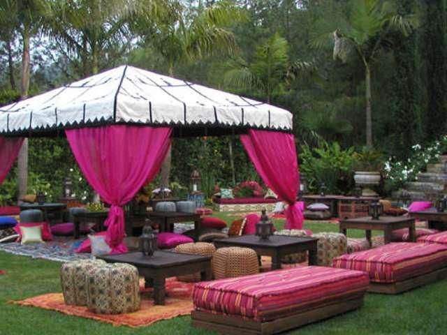 Arabian Nights Theme Party Moroccan Tents Rental By ST Tropez In The Bay