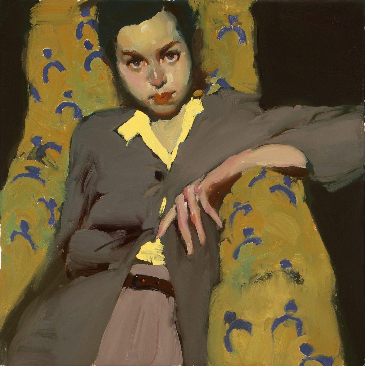 Corcoiselikesthese Milt Kobayashi Portrait Painting Funny Art
