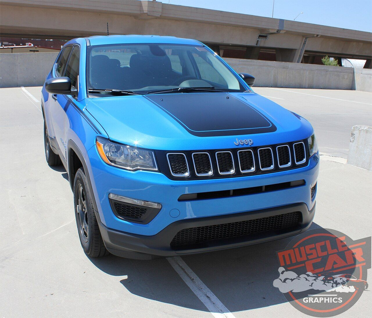 2018 Jeep Compass Hood Graphics BEARING HOOD 20172020