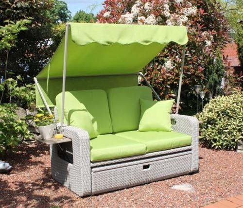 details zu leco lounge gartenmöbel wohlfühl-rattan-2-sitzer, Garten und erstellen