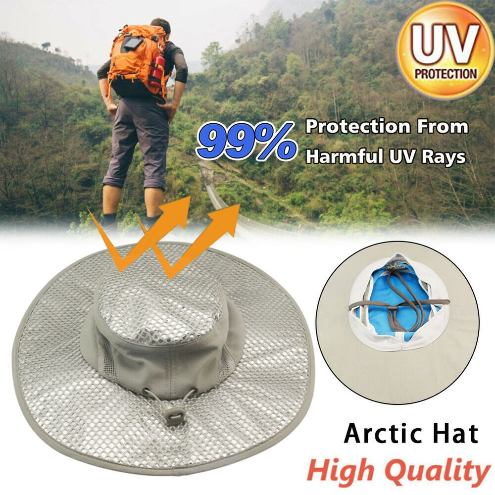 Sponsored Ebay Ice Cap Sunscreen Evaporative Cooling Hat Beige