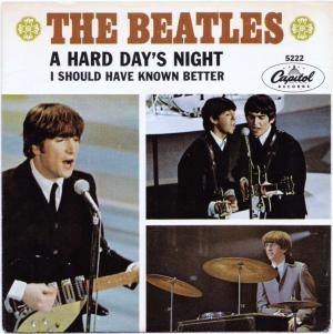 Song Facts The Beatles A Hard Days Night Guitar World Beatles Albums Beatles Album Covers Beatles Singles