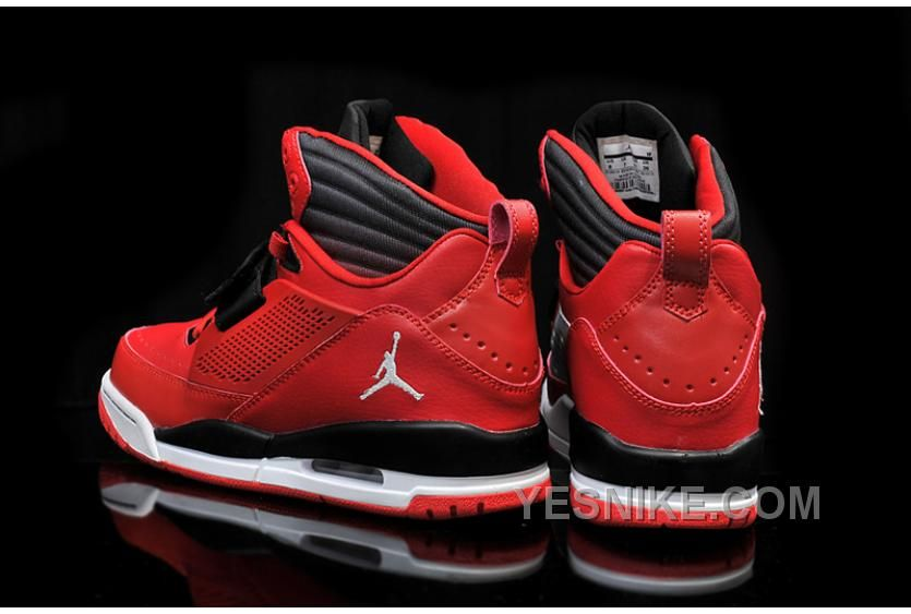 Big Discount! 66% OFF! Jordan Flight 97 Black Gym Red White Shoes ... 6d0e56f26