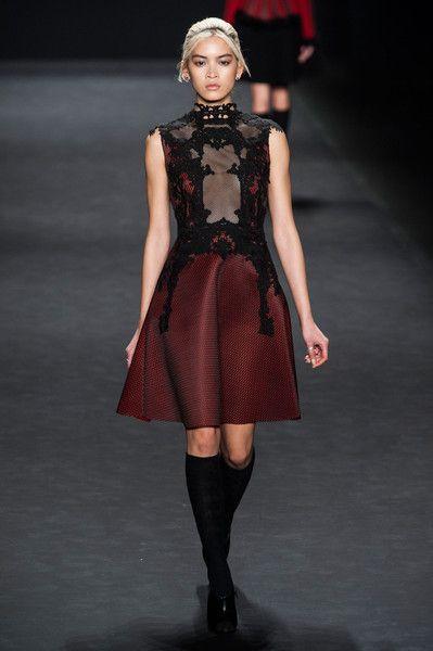 Vivienne Tam at New York Fashion Week - sheer panel