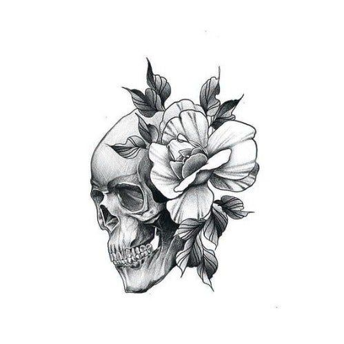 Complete These Sentences And We'll Tell You If You're British Or American | Skull rose tattoos, Tattoos, Skull tattoo design