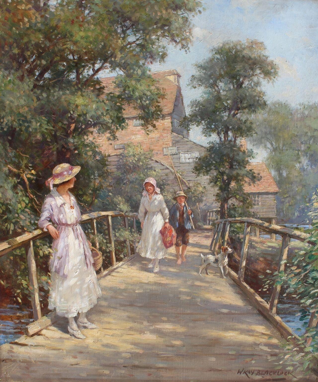 William Kay Blacklock Vintage Painting Great Paintings Old Paintings