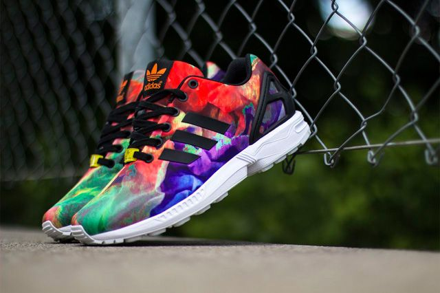 the latest 97ca6 485c5 adidas zx flux watercolor Sale  Up to OFF79% Discounts