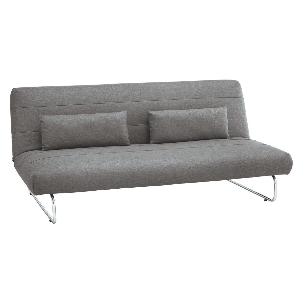 Habitat SIBU Grey fabric 2 seater sofa bed. £225 in sale. Assembled ...
