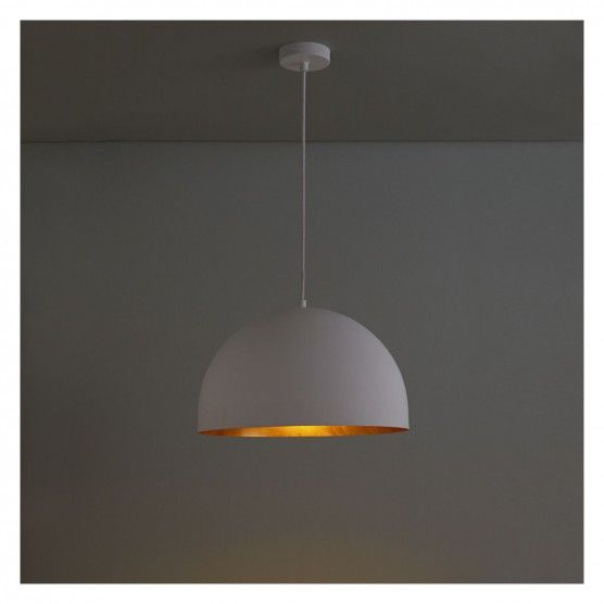 East White And Gold Metal Ceiling Light Ceiling Lights Metal Ceiling Lighting Metal Ceiling