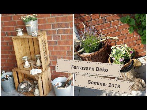 Photo of Terrassedekorasjon sommer 2018 ▪ vakker sommerterrakestat # dekorasjon # terrasse # sommerdekorasjon