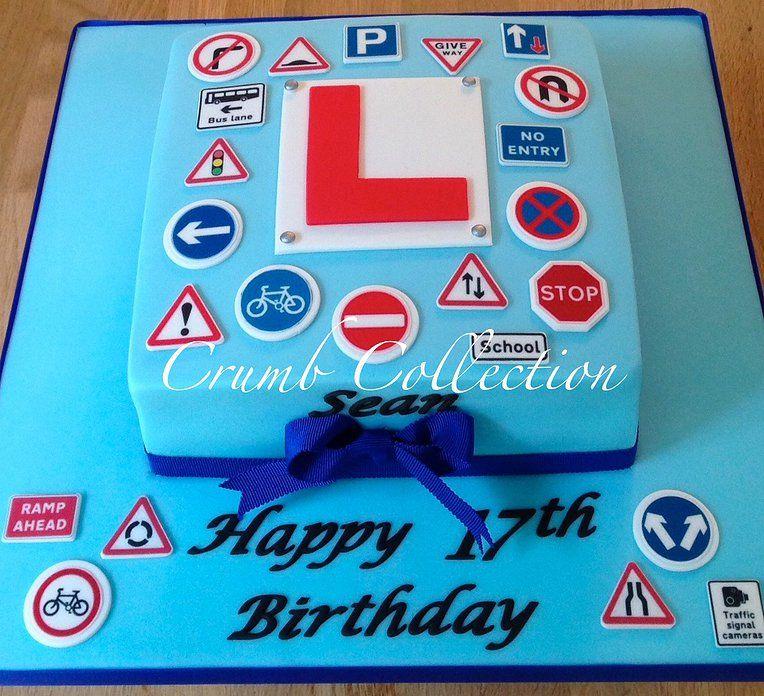 Learner Driver Cake 17 Birthday Cake 18th Birthday Cake