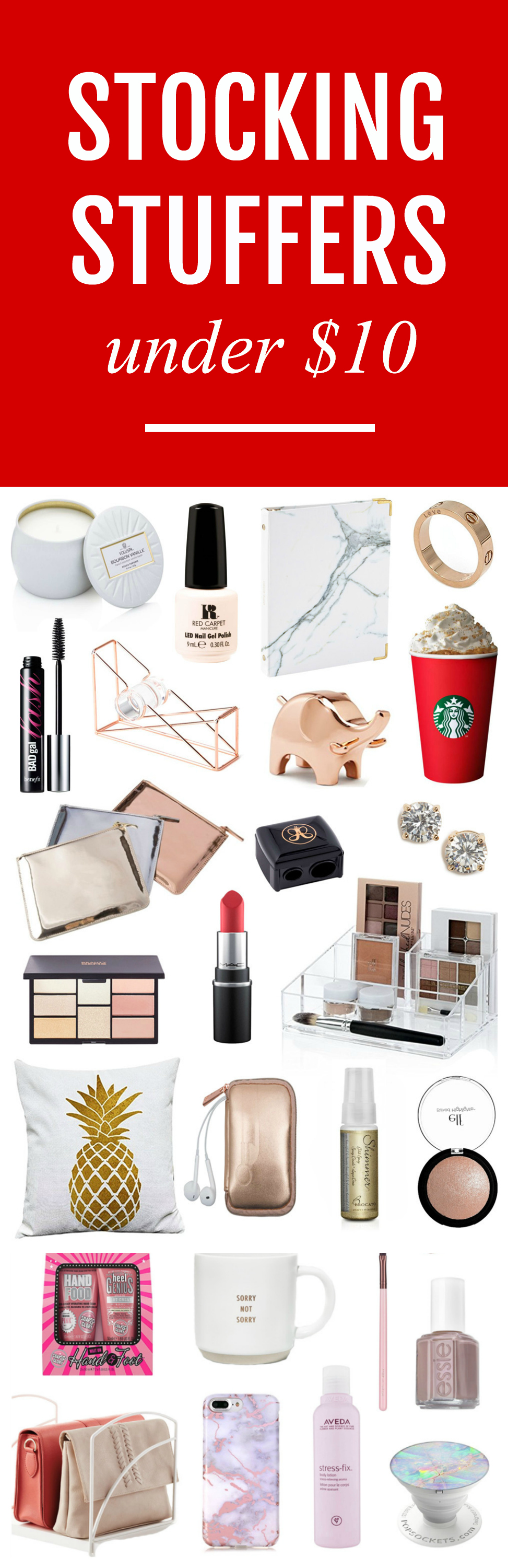 The Best Stocking Stuffers For Her Under $10 | Stocking ...