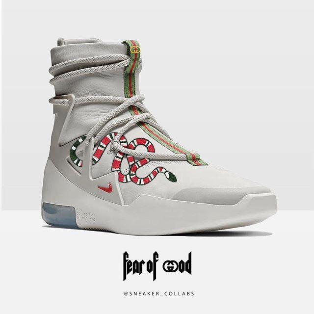 Gucci x Nike Fear of God 1 Art by