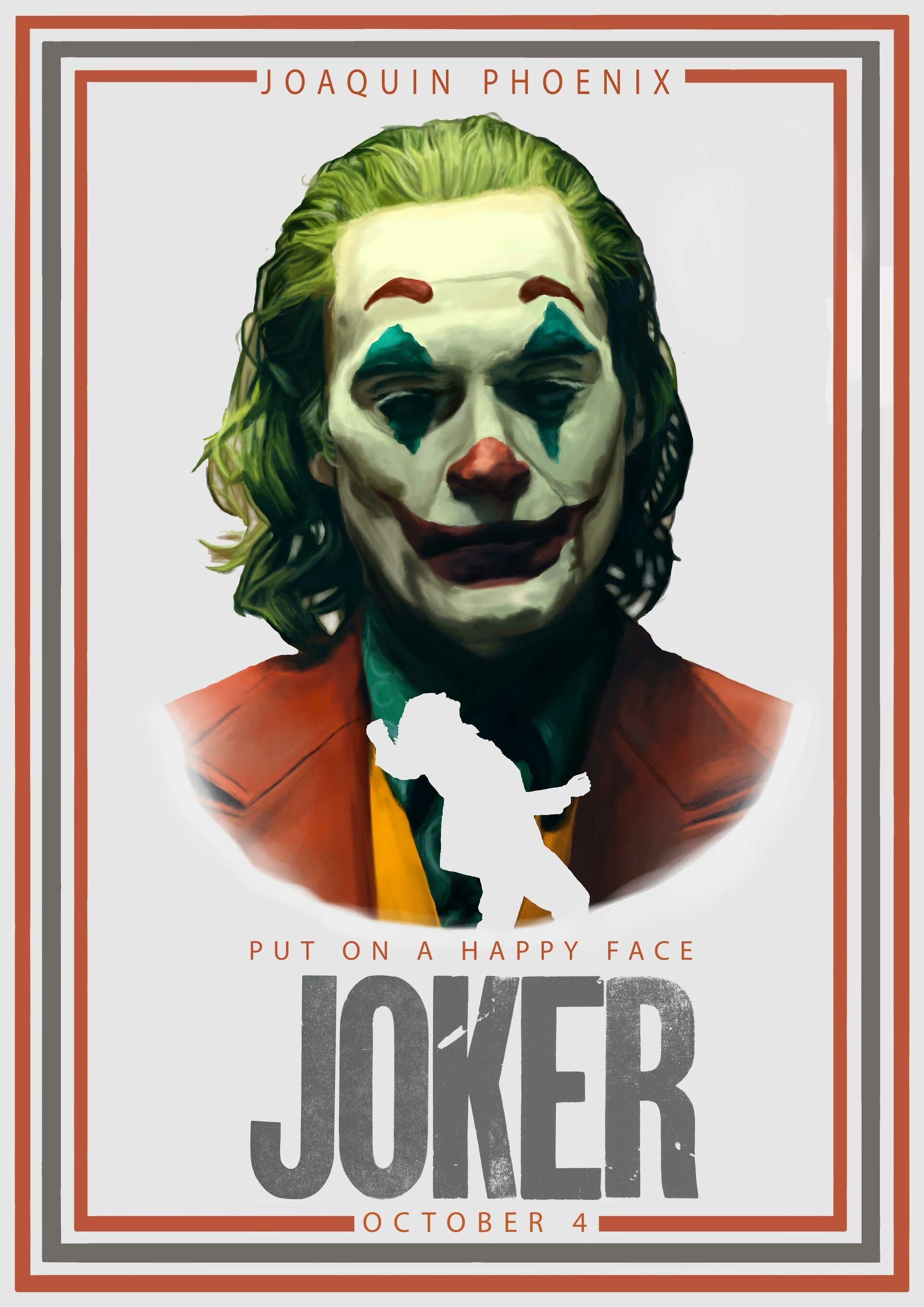 Joker Alternative Poster by Tomos WatkinThis is my