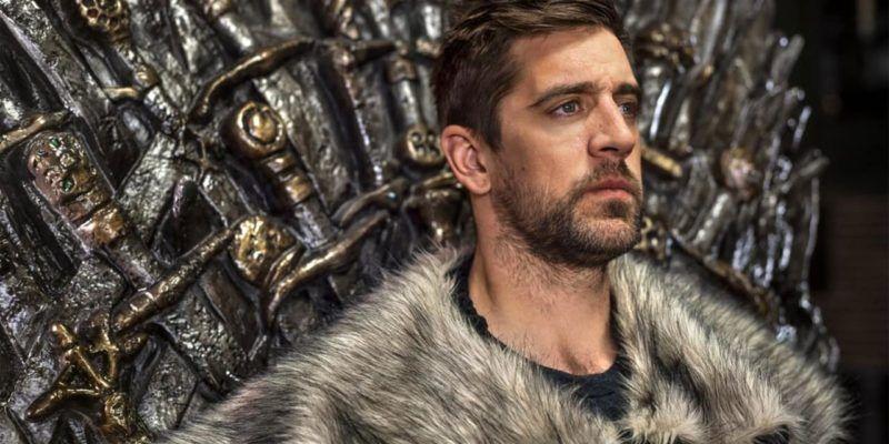 Game Of Thrones Season 8 Has A Cameo Of Aaron Rodgers The Geek Herald Tv Series Season 8 Aaron Rodgers