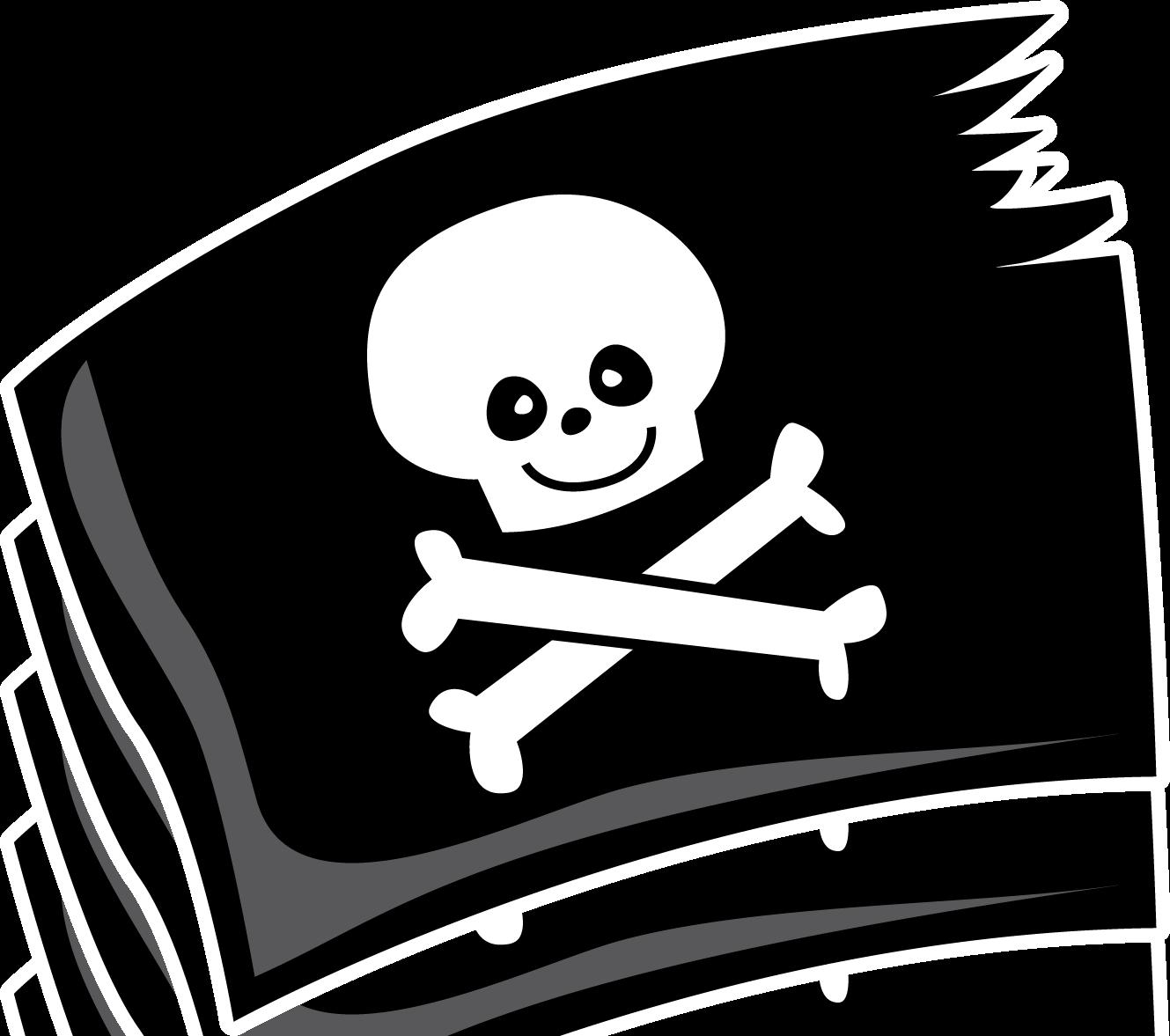 Пиратские символы картинки для детей