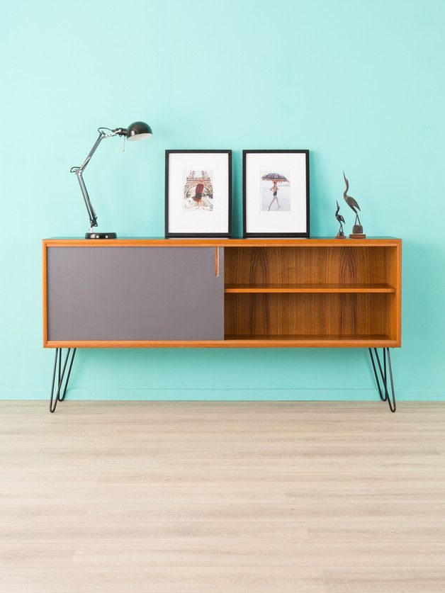 vintage kommoden teak sideboard 60er kommode 50er vintage ein designerst ck von mid. Black Bedroom Furniture Sets. Home Design Ideas