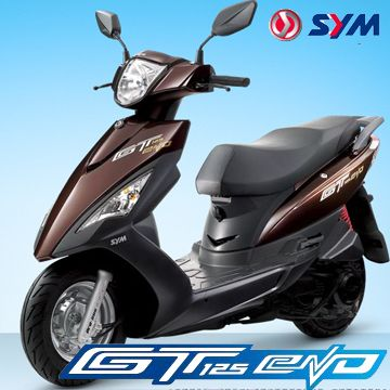 This Is My Actual Scooter The Sym Gt 125 Evo Scooter Motorcycle Motos