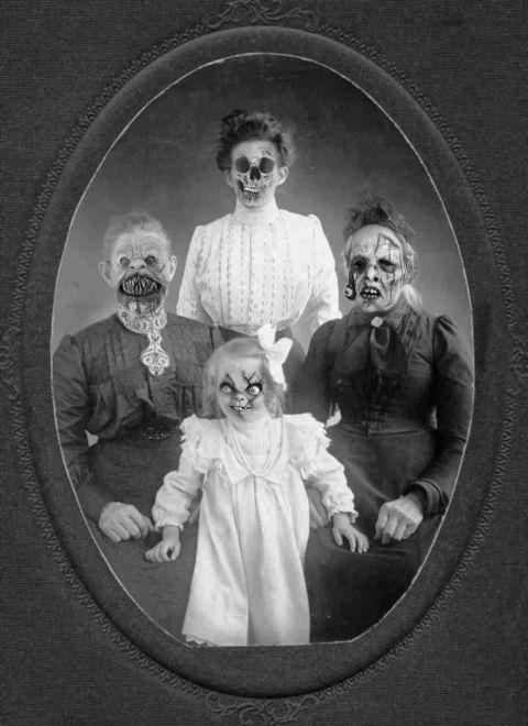 Haunted Portraits Creepy Pictures Horror Photos Creepy Halloween