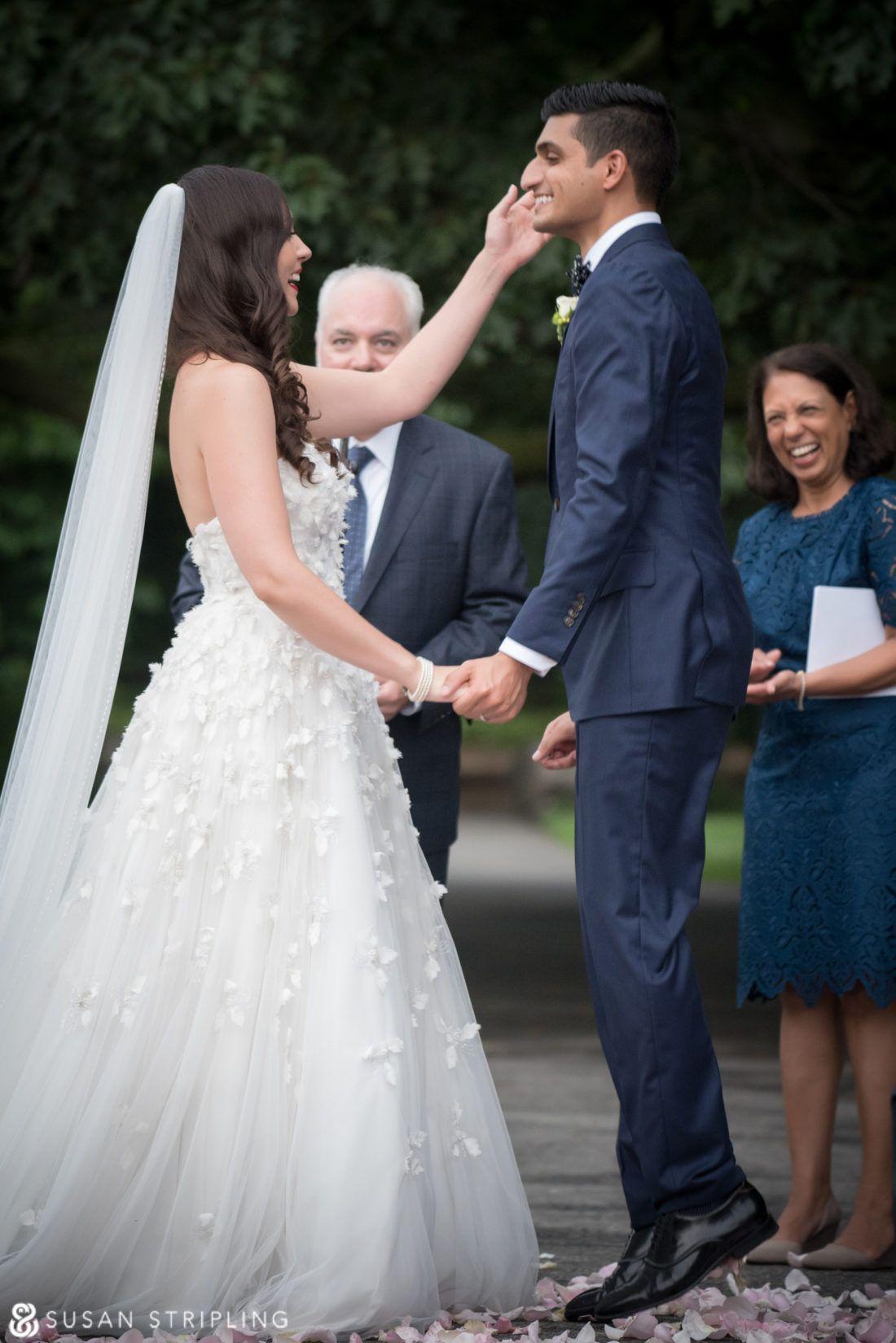 Summer Wedding at the Brooklyn Botanic Garden Wedding