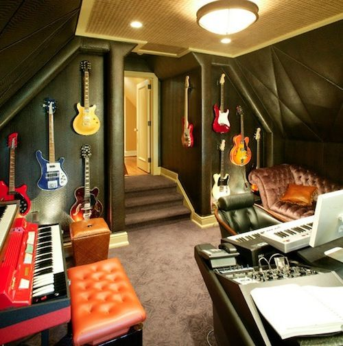 How To Design A Basic Recording Studio In Your Basement. Media RoomsStudio  IdeasMusic Studio RoomHome ...