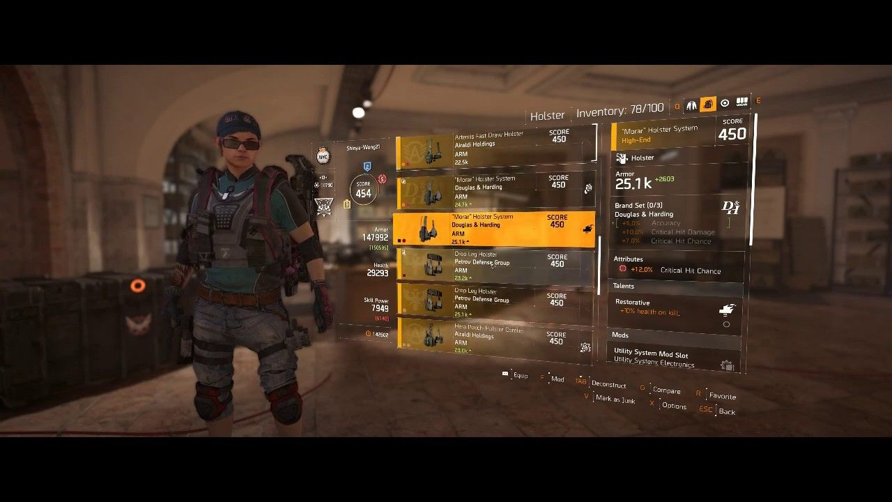 The Division 2: Daily Mission Run | Seeker Mine | Fire