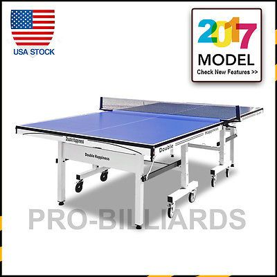 Tables 97075: Pro 25Mm Top Standard Size Table Tennis Ping Pong Table Free  Rackets Net